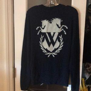 Wildfox sweatshirt cardigan